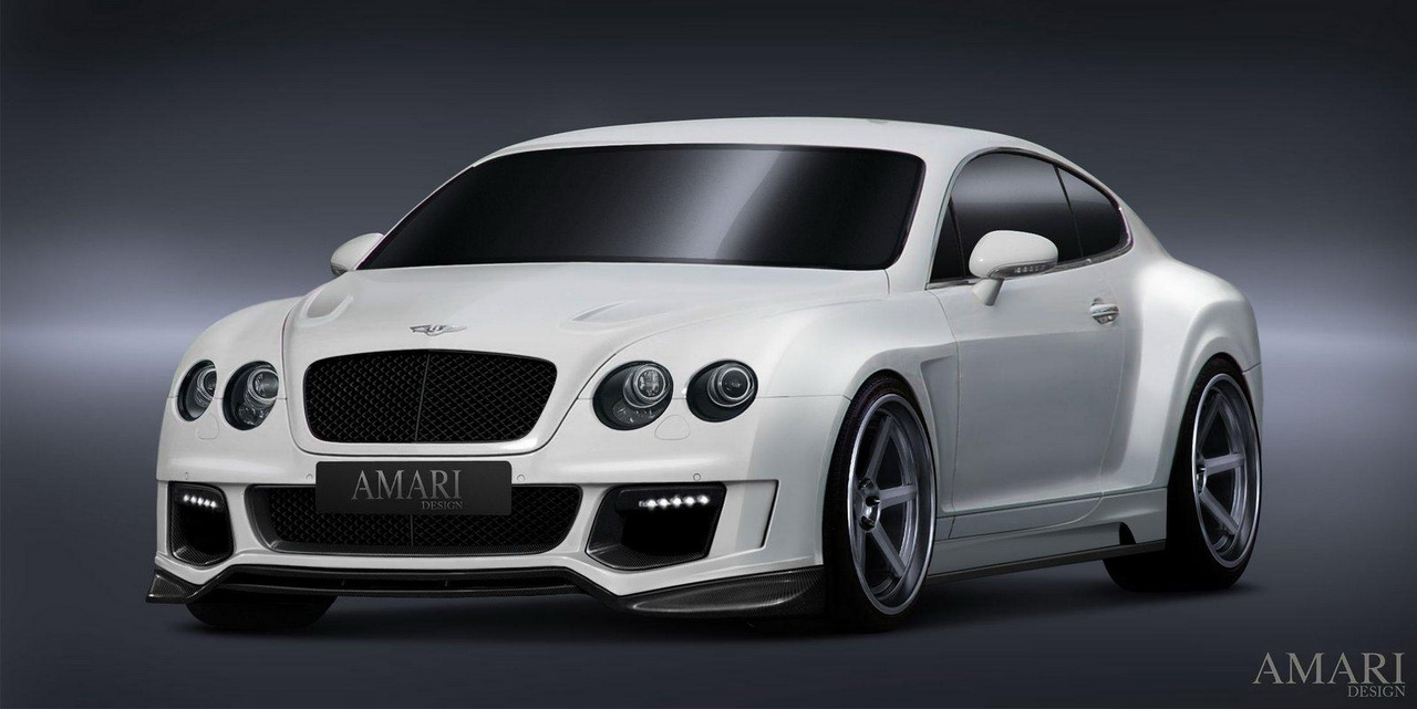 Bentley Continental GT Evolution от Amari Design