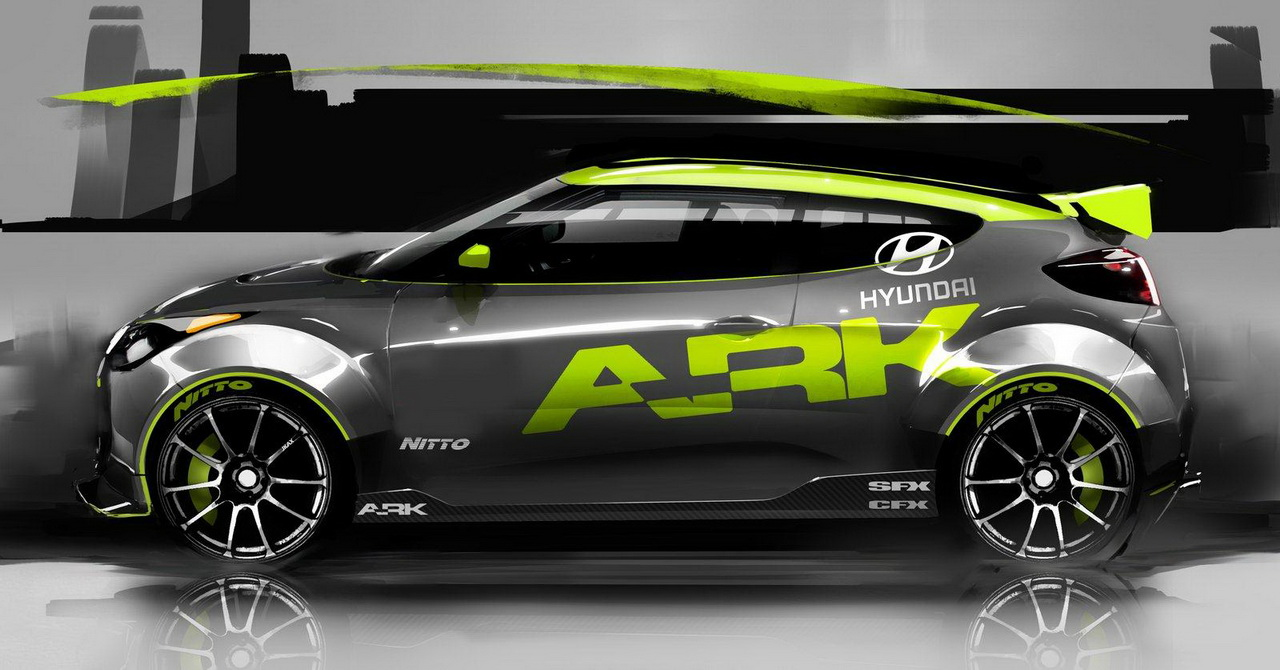 Hyundai Veloster от ARK Performance